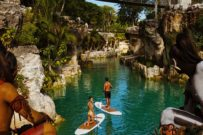 Paddleboard Hotel Xcaret - Mexico Destination Club