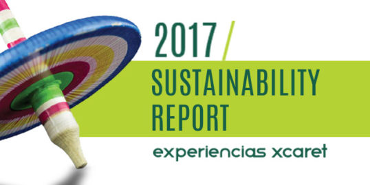 Sustainability report xcaret 2017
