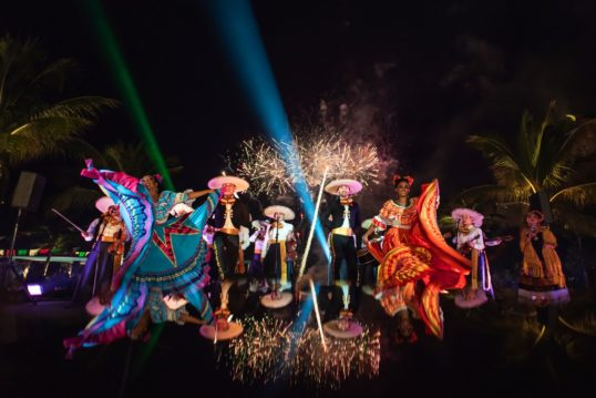 Independence day at Hotel Xcaret