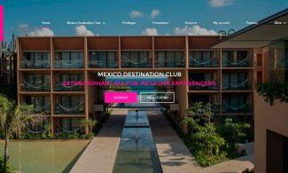 México Destination Club Website