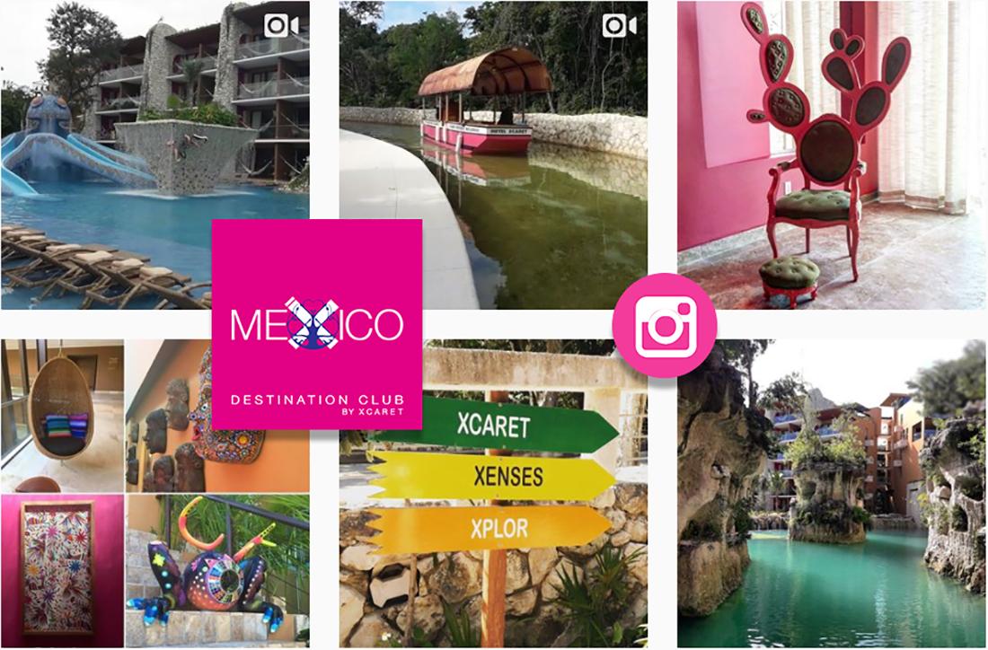 Instagram Mexico Destination Club