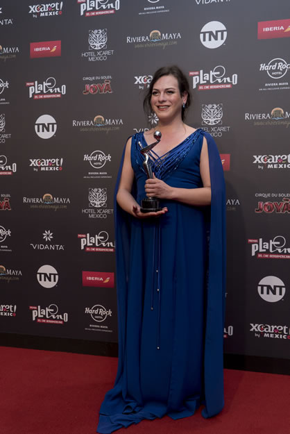 Premios Platino - Daniela Vega - Mexico Destination Club