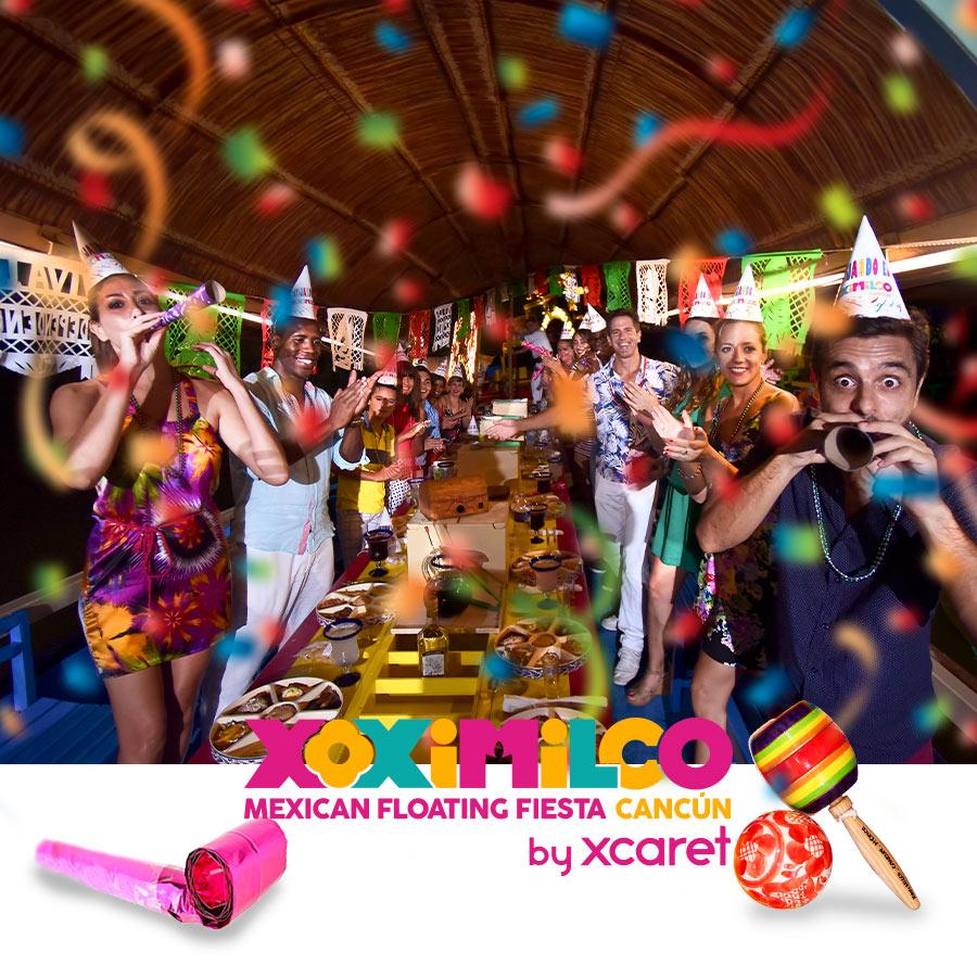 Xoximilco | All Fun Inclusive | México Destination Club
