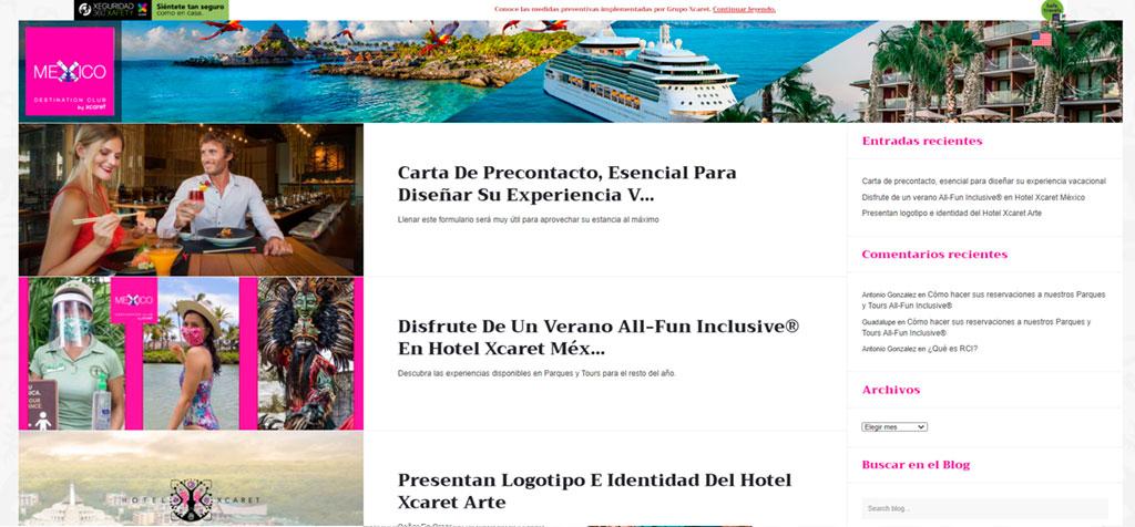 Blog México Destination Club