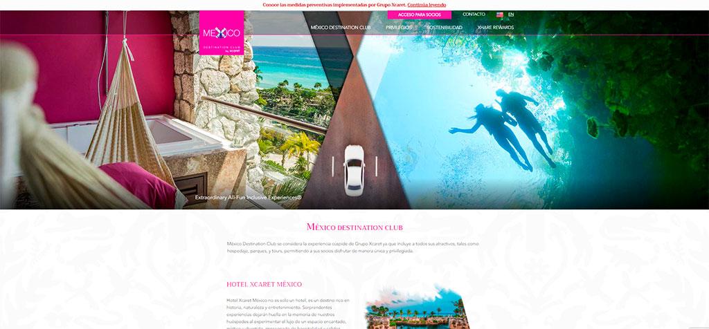 Web México Destination Club